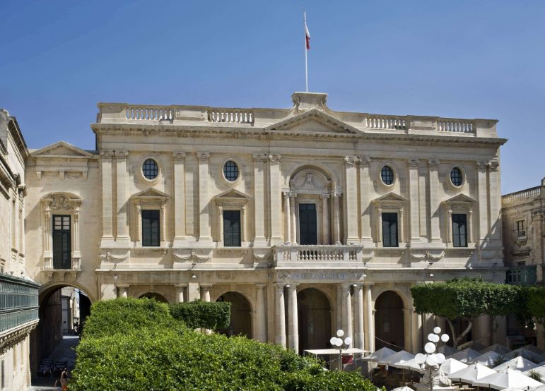 The National Library of Malta